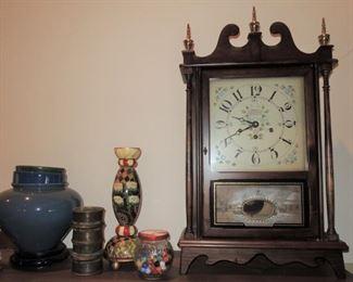 Beautiful, large mantle clock