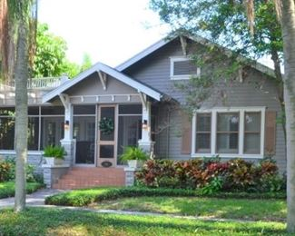 Charming 1922 home in Old Northeast St Petersburg