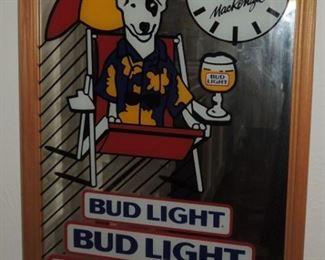 Budweiser and Bud Light items