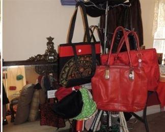 Handbags and totes - handbags including Coach, Prada (authentic), and vintage Tote and handbags