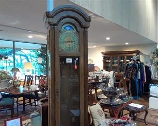 Tall case clock only $100. Needs work.