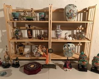 MANY ASIAN ARTIFACTS