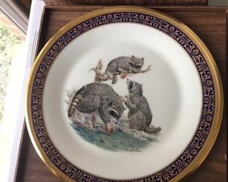 LENOX WOODLAND WILDLIFE COLLECTOR PLATES