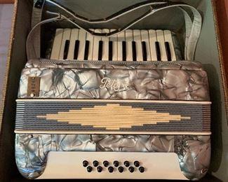 Vintage Petosa accordion #4824