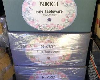 AHH009 Three Sets of Nikko Fine Tableware