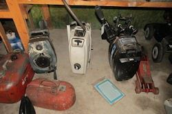 gas cans etc
