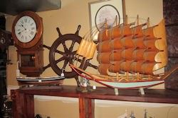 ships wheel clipper ship