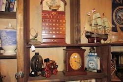 wooden calendar etc
