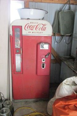 x coke machine