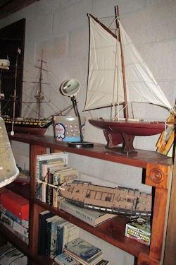 x model sail boat