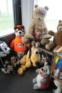 x stuffed toys