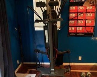 Bowflex machine - get pumped!