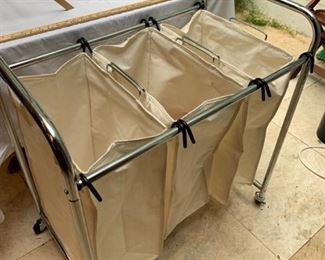 Laundry sorting cart