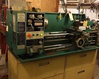 Metal Working Lathe with Tools and Accessories Included