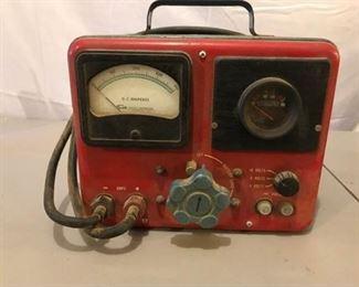Vintage Sun Electic Volt Amp Tester
