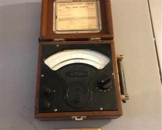Direct Current Voltmeter-Vintage