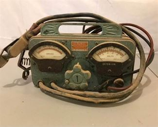 Vintage Sun Electric Battery Starter Tester