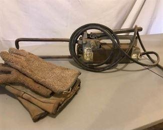 Miller Portable Spot Welder and Gloves