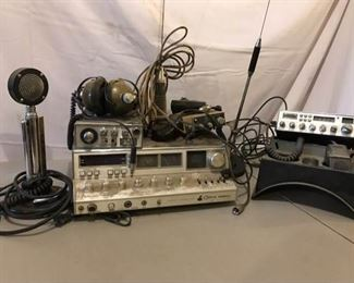 CB Radio Bases, Antennas and Miscellaneous Equipment