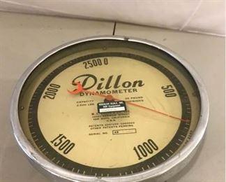 Dillon Dynamometer 2500 lb