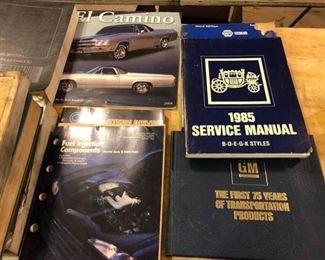 Assortment of Auto Books