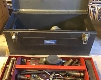 Tool Box with Specially Made Heavy Tools