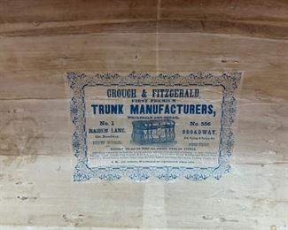 Label inside Trunk!