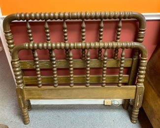 Antique Jenny Lind Twin Bed!