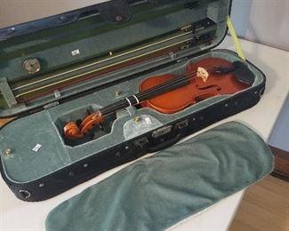 Samuel Eastman full size violin in a beautiful sturdy case.