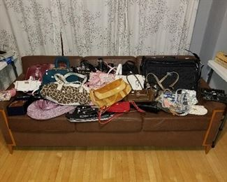Large selection of designer purses - Michael Kors, Coach, Chanel and more!