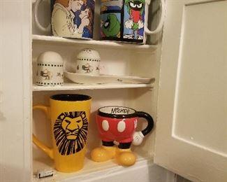 Disney and Warner Bros ceramics!