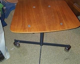 Low Slung Back Mid Century Office Chair