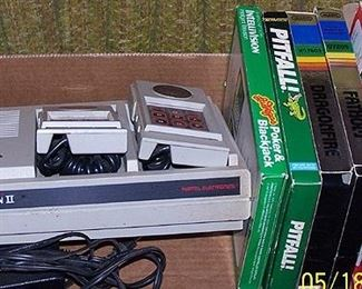 Intellivision II unit and games