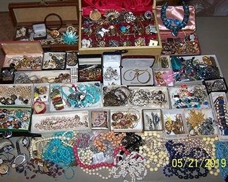Costume jewelry  (still sorting)