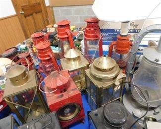Retro styled lanterns