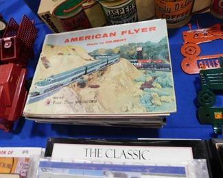 Vintage model train catalogues