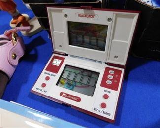 Nintendo BlackJack hand held game