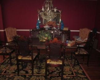 Dining Room Suite ~ Rugs and more