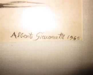 Alberto Giccomette 1901-1966