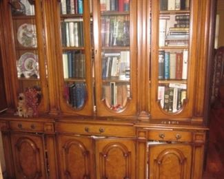 Tons of Books China Cabinet