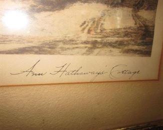 J.R. Hutchinson Ann Hathaways Cottage