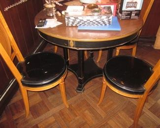 English Table & Chairs