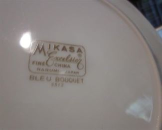Mikasa Excelsier Fine China