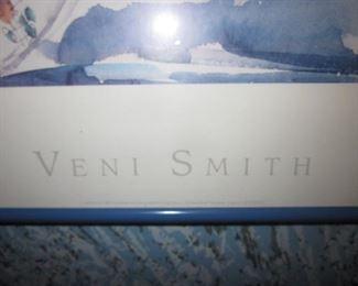 Veni Smith Signed