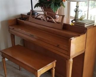 Spinet by Gulbransen  This was tuned 1 year ago