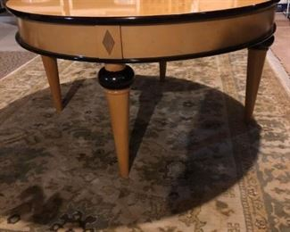 matching coffee table and console table