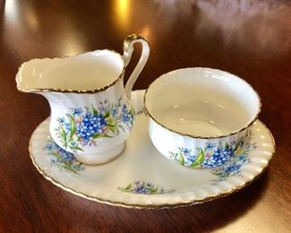 Vintage 3-Piece Set of PARAGON China, Made in England, with 18k Gold Scalloped Edges