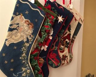 NEEDLEPOINT STOCKINGS