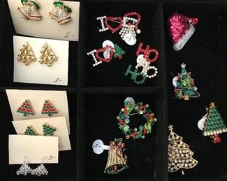 CHRISTMAS COSTUME JEWELRY