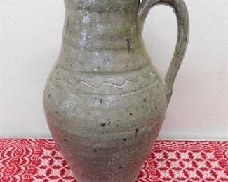 Large B.B. Craig Pottery Pitcher